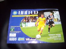 Torquay United v Salisbury City, 2007/08